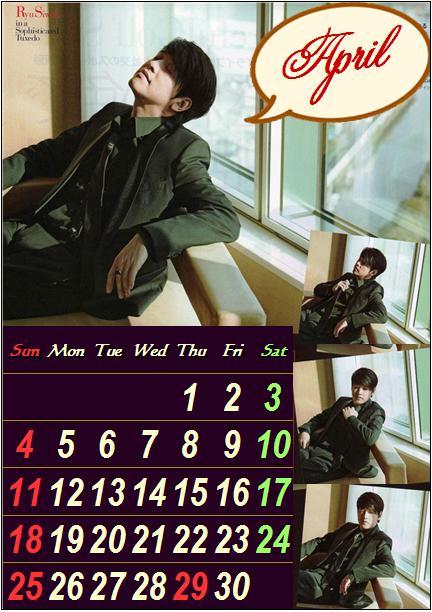 カレンダー・・・・・4