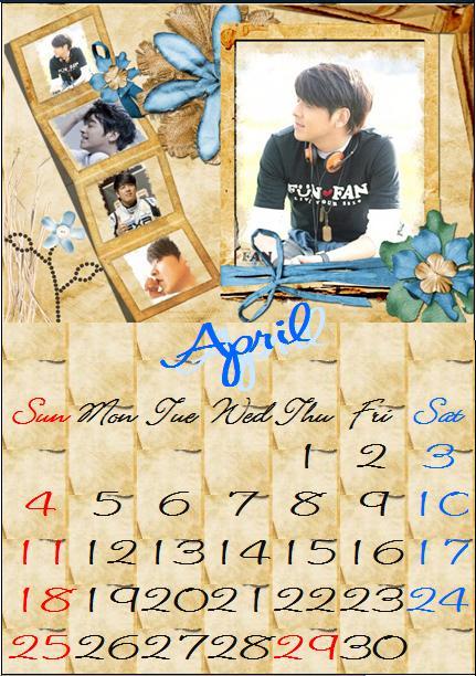 カレンダー・4