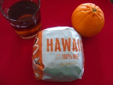ハワイアンバーガー