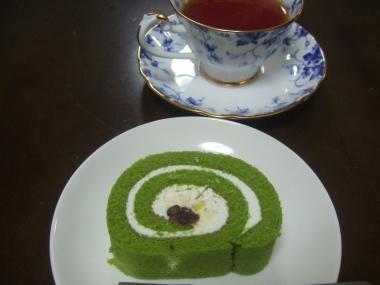 抹茶ロール