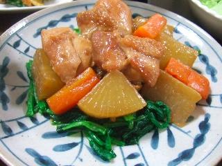 鶏と大根の中華煮込み