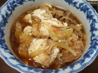 栗原さんの肉豆腐