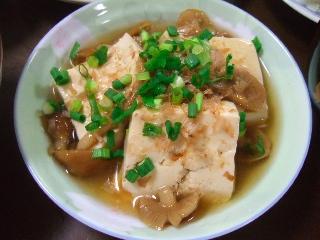 なめこ豆腐