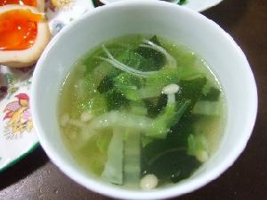 ゆで鶏スープ