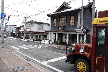 会津の街並み。
