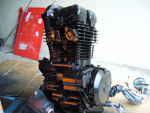 エンジン塗装 10