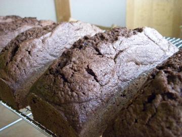 チョコのパウンドケーキ