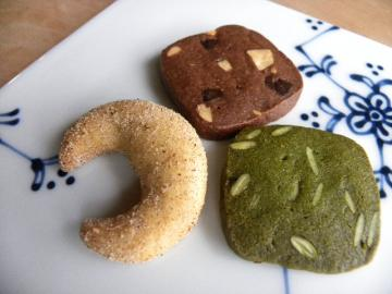 クッキー3種