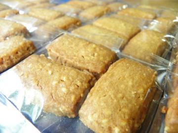 しょうがとはちみつ入りきなこクッキー