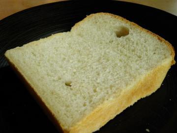 スライスした穴あき食パン