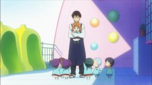 はなまる幼稚園 一緒に滑り台4