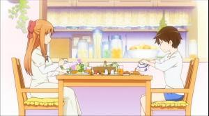 はなまる幼稚園 山本先生 朝食風景