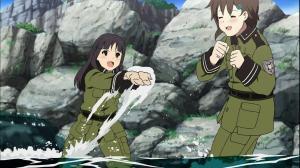 ソ・ラ・ノ・ヲ・ト 水遊び