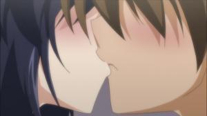 おまもりひまり 緋鞠とキス
