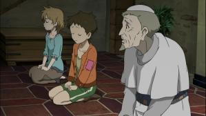 ソ・ラ・ノ・ヲ・ト ショボーンとする司祭様