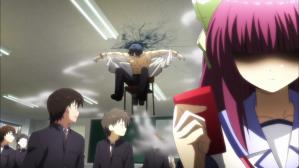 Angel Beats! 椅子ごと飛翔2