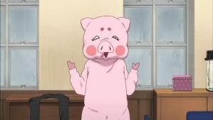 けいおん!! 豚の着ぐるみ