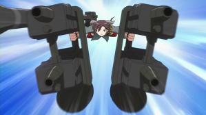ストライクウィッチーズ2 フルアーマーお姉ちゃん 射撃