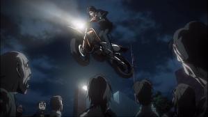 学園黙示録 HIGHSCHOOL OF THE DEAD バイク