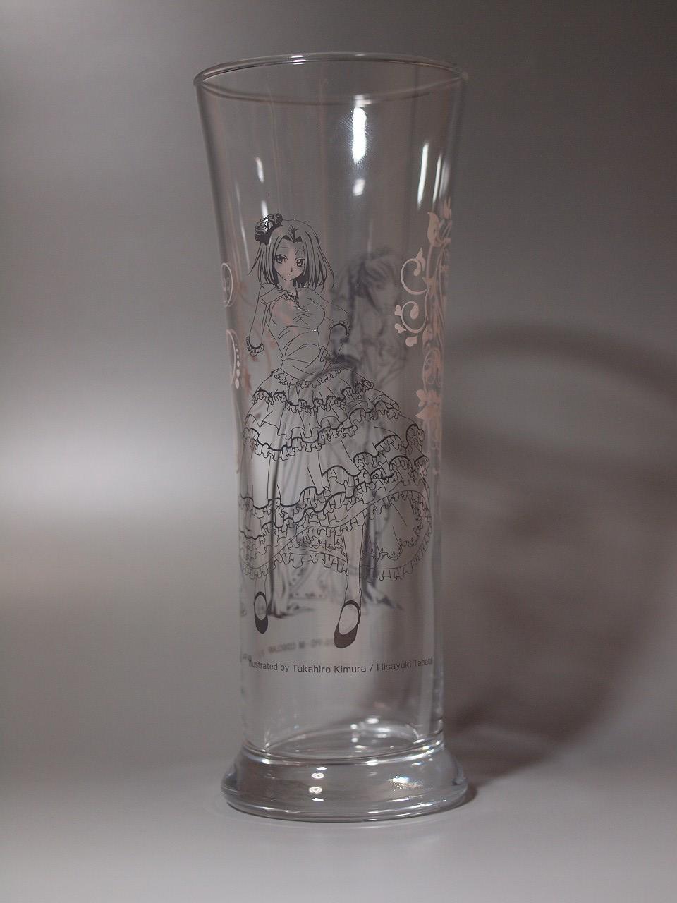 コードギアス 一番くじ プレミアムアートグラス C.C.&カレン カレン側