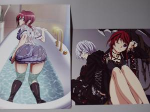 聖痕のクェイサー BD2巻 特典 イラストカード