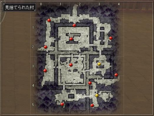 3週目探索地図(村)