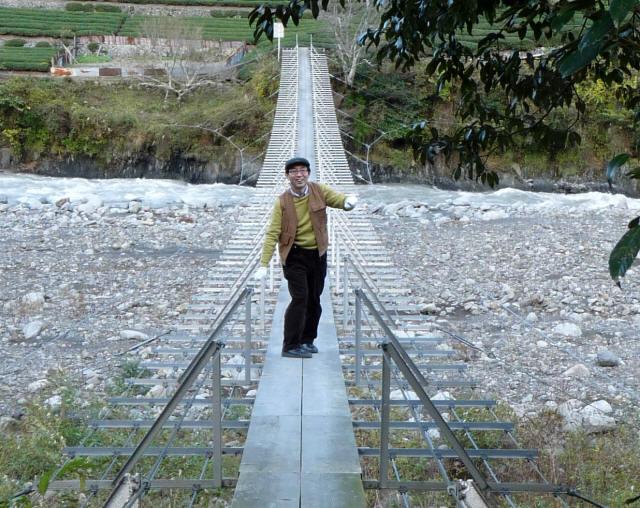 入島の吊橋8