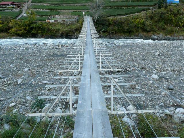 入島の吊橋11