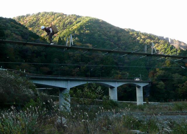 入島の吊橋12