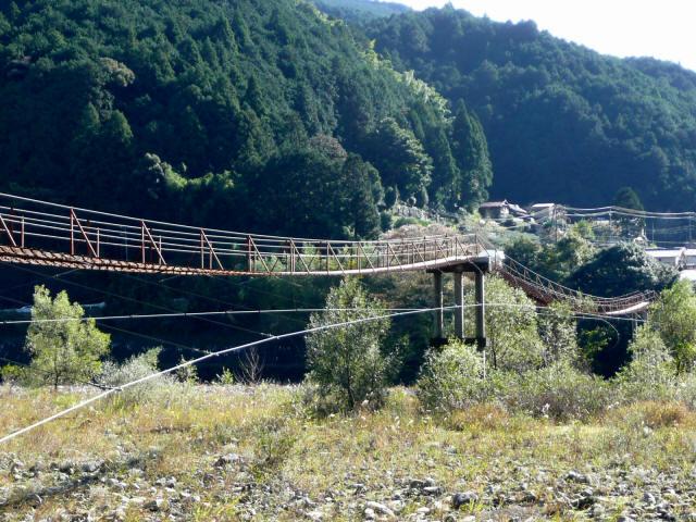蕨野の吊橋