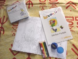 子供用塗り絵、パズル、アクセサリーキット