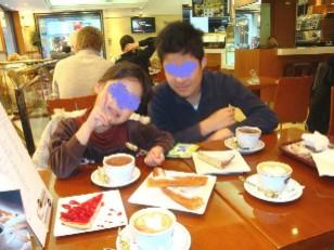 カフェで初チュロス&チョコラーテ ブログ