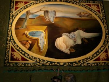 ダリの寝室の絵