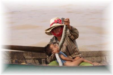 カンボジアのオムツなし①