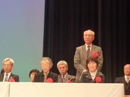 表彰の松尾外志雄さん