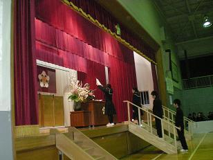 第62回兼六中学校卒業式