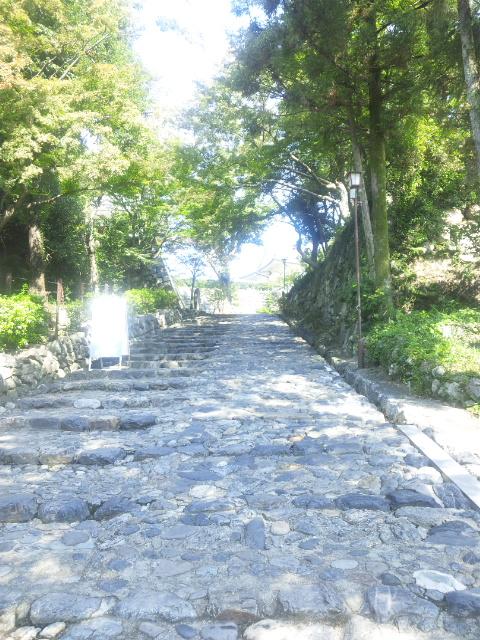 犬山城石段