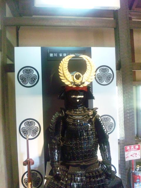 徳川家康の鎧