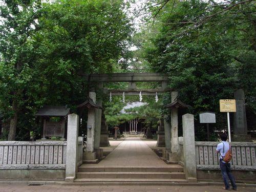 石神井氷川神社2
