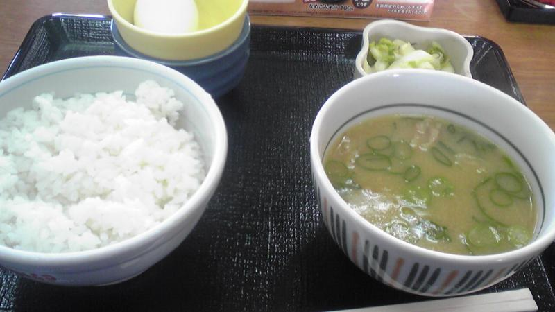 Bamboo Lunch-とん汁定食