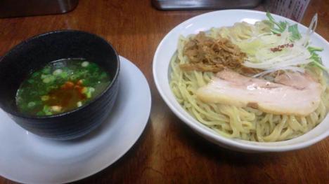 貝つけ麺(海老塩ベース)