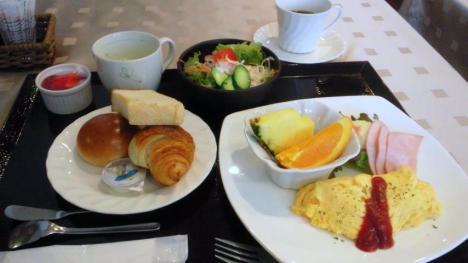 ホテルクレール日笠 洋朝食