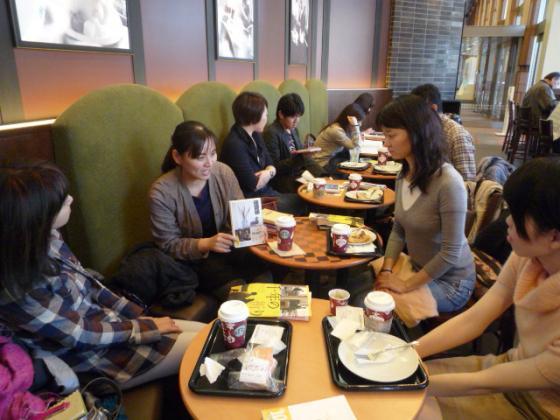 恵比寿のスタバで「家族」をテーマに読書会!