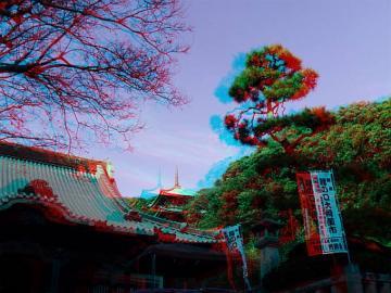 龍口寺と五重塔