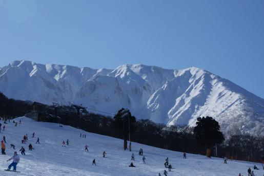美しき風景 大山スキー場(鳥取...