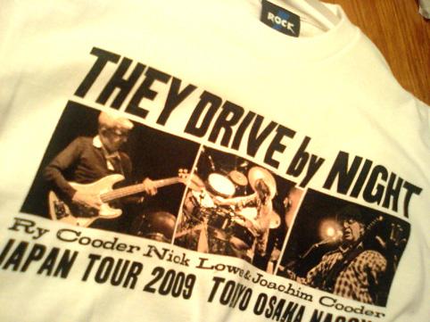 ライクーダーコンサート、Tシャツ