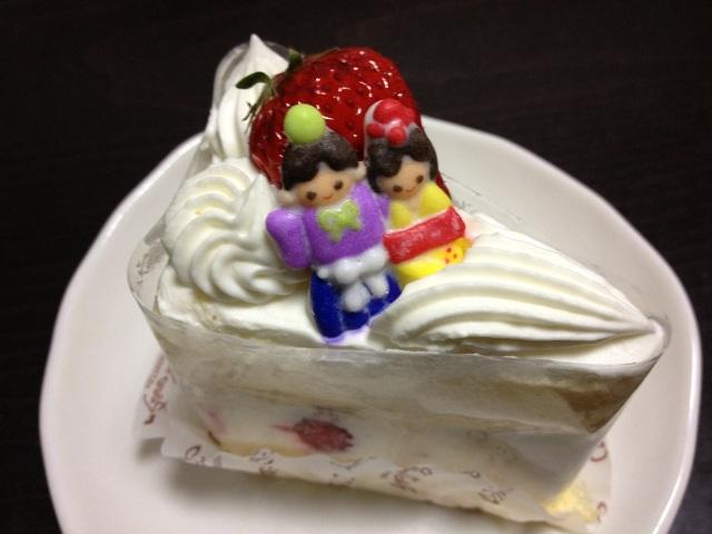 130303ひなまつりショートケーキ