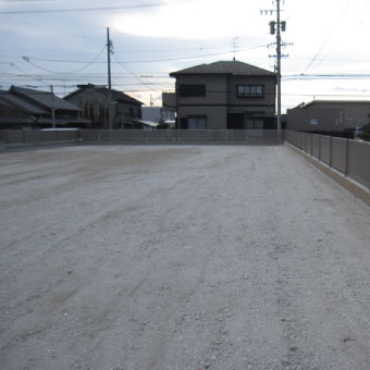 飯田邸整地