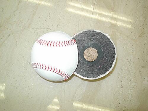 ウォータージェット切断品(野球ボール)