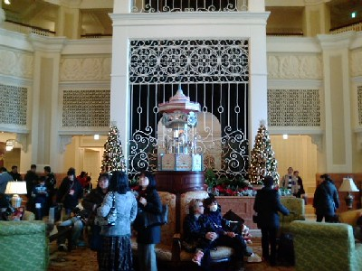 ディズニーランドホテル中